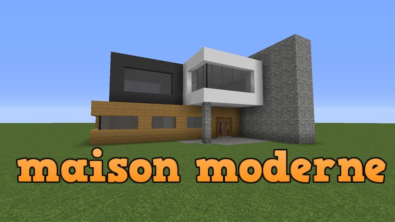 Tuto Minecraft  Construire une maison moderne  YouTube