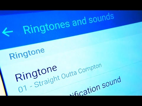 Samsung Galaxy S6 / S6 Edge Set Your Own Music Ringtone
