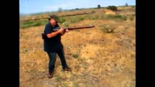 Jamie Shooting Mosin Nagant
