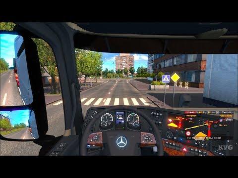 Euro Truck Simulator 2 - Beyond the Baltic Sea - Narva to Pskov   Gameplay (PC HD) [1080p60FPS]  