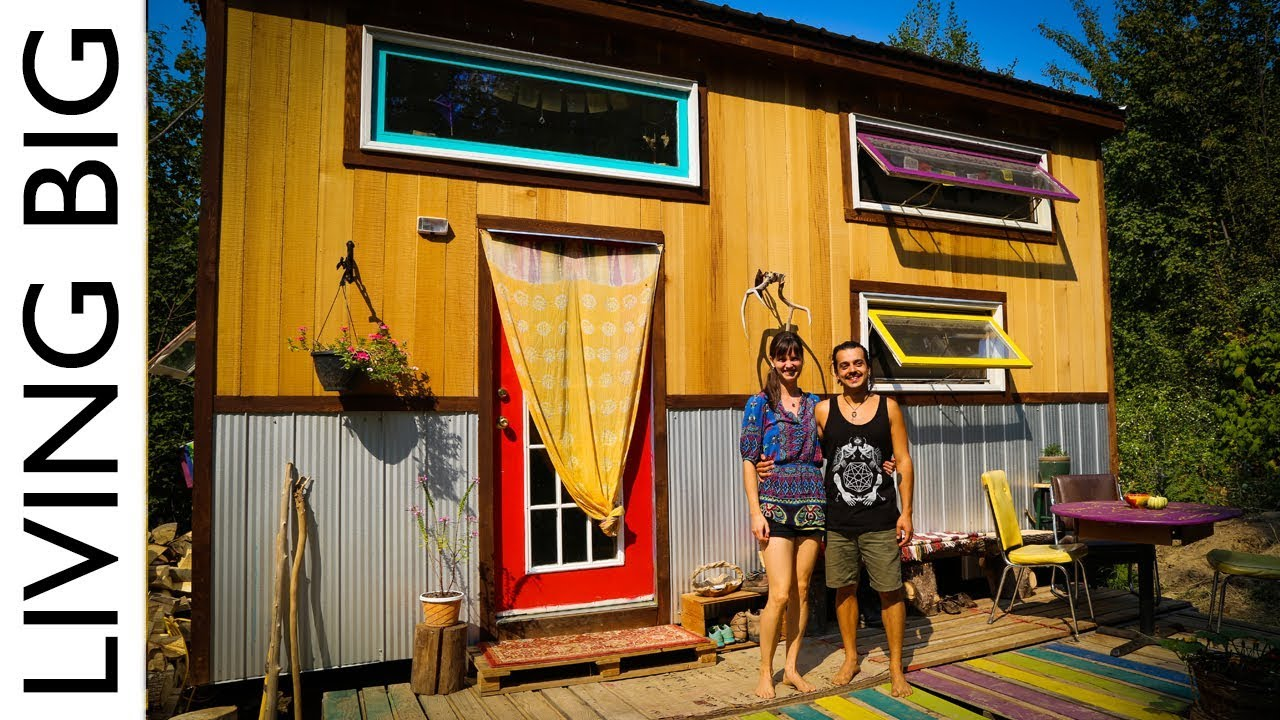 World Traveling Couple S Tiny House In Sustainable
