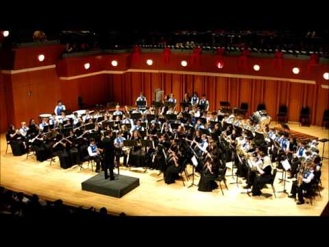 South Forsyth Middle School Band, Heart and Home December 11, 2015