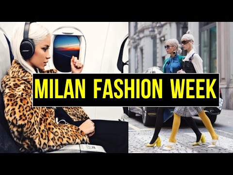 Vlog #9 -  Milan Fashion Week