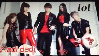 lol(エルオーエル)2ndシングル『ladi dadi』