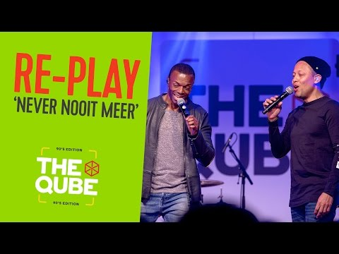 Re-Play - 'Never Nooit Meer' (live in de 90's Qube) // Qmusic