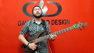 El Orkeston Loko - De noche en la ciudad - bass cover by David Haro