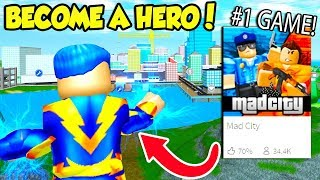 This Is The *NEW* NUMBER ONE GAME On ROBLOX And IT'S AMAZING!! (Roblox Mad City)