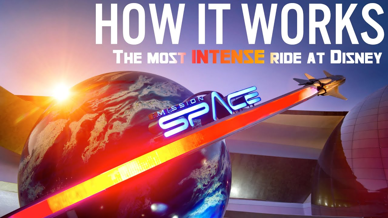 How Mission: SPACE Works | Disney's most INTENSE ride