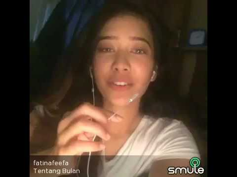 Fatin Afeefa - Tentang Bulan ( Cover by Smule )