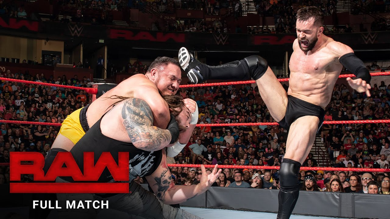 FULL MATCH - Finn Bálor vs. Samoa Joe vs. Bray Wyatt – Triple Threat Match: Raw, May 29, 2017
