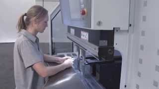 TRUMPF bending: TruBend 7036 - Ergonomic operating concept