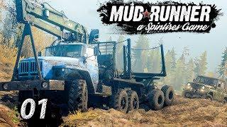 Spintires MudRunner | Erstes Gameplay ► #01 PREVIEW Off-Road Simulator First Look deutsch german