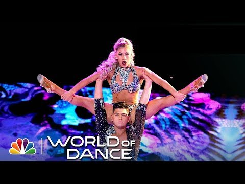 Karen y Ricardo WOD 2018 All Performances - Incredible Salsa Cabaret Couple - World Champion Dancers