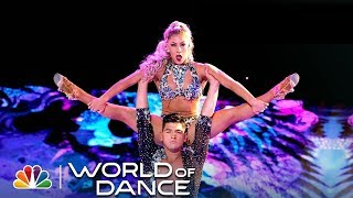 Karen y Ricardo WOD 2018 All Performances - Incredible Salsa Cabaret Couple - World Champion Dancers