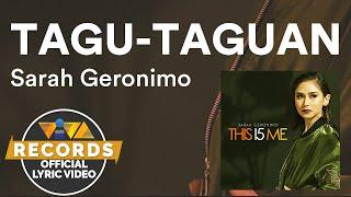 Tagu-Taguan - Sarah Geronimo Feat. JMakata [Official Lyric Video]