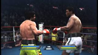 Rocky Balboa vs Muhammad Ali - Fight Night Round 4