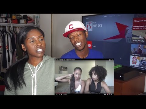 CHRIS CHEATED ON QUEEN WITH ME !!!! Reaction
