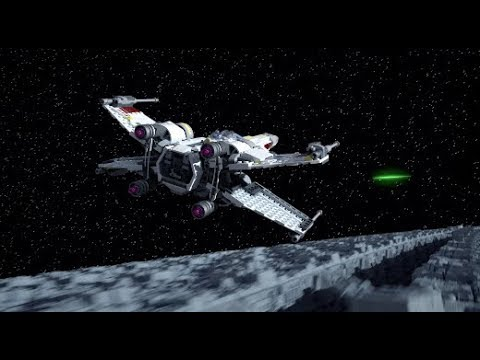 X-Wing Starfighter - LEGO STAR WARS - 75218 Product Animation