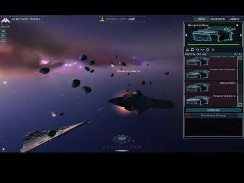 Homeworld Remastered Collection Star Wars Mod Republic VS The Sepertatist Army |