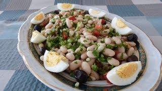 Piyaz (white Beans Salad) Recipe | How To Make Piyaz | Haricot Bean Salad