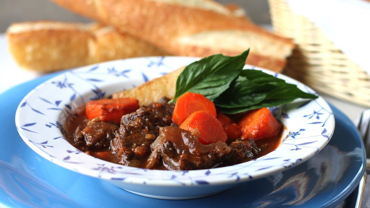 Vietnamese beef stew (Bo kho banh mi)