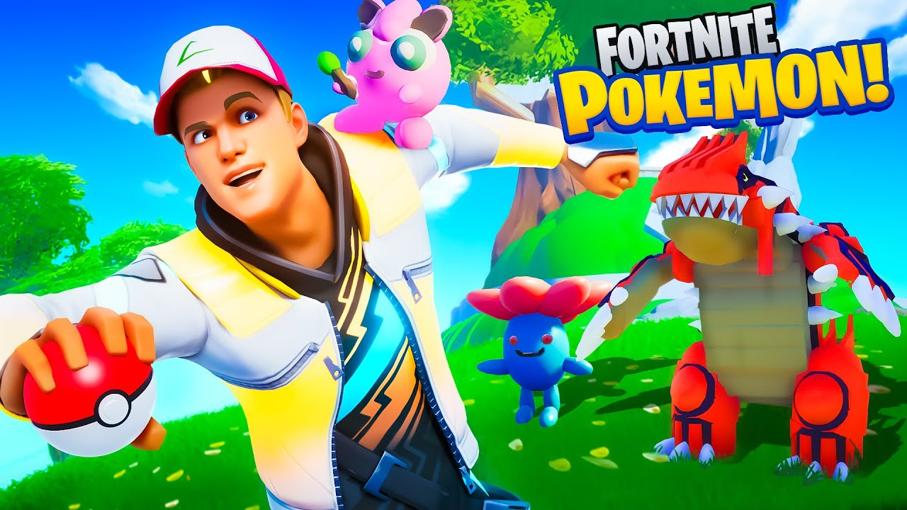Becoming a Fortnite POKEMON Master!