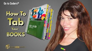 Medical Coding Basics: How to Tab Your Code Books!