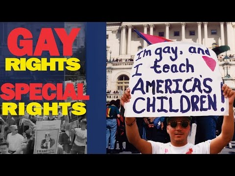 LGBTQ Rights and the Gay /Transgender agenda. Full Documentary Film. Special rights in the bathroom