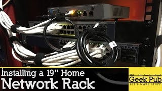 Installing a Home Network Rack