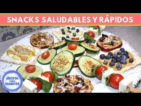 Snacks Sanos, fáciles y aptos p/personas con Diabetes  | Cocina de Addy