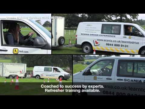 Scania Car and Trailer Licence (Category B+E)