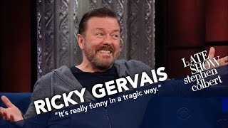 Download Ricky Gervais Will Know Science Failed Him If He Ever Meets The Devil Mp3 and Videos
