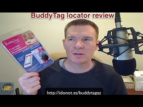 BuddyTag Bluetooth Tracker review