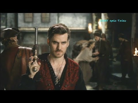 Once Upon A Time 7x13 Captain Hook & Ahab Duel - Hook & young Alice Season 7 Episode 13 Scenes