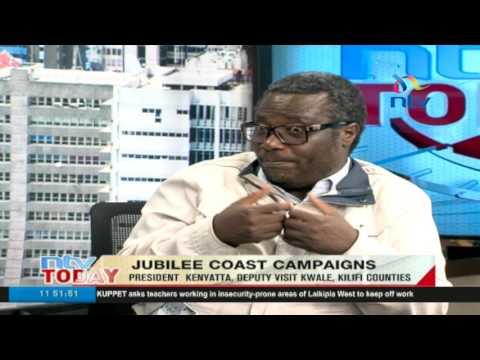 Jubilee Coast campaigns: President Kenyatta, Deputy visit Kwale, Kilifi