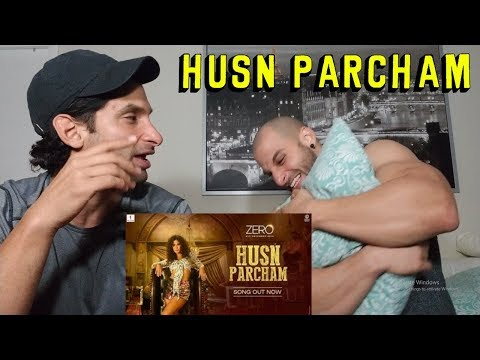 ZERO: Husn Parcham  Song  Shah Rukh Khan Katrina Kaif REACTION