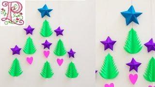 Christmas decoration ideas    Christmas wall hanging    Easy Christmas Home Decoration ideas