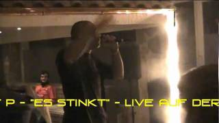 STRAIGHT P - ES STINKT- LIVE AUF DER SKY-MP3 SHISHA NIGHT IN PORZ