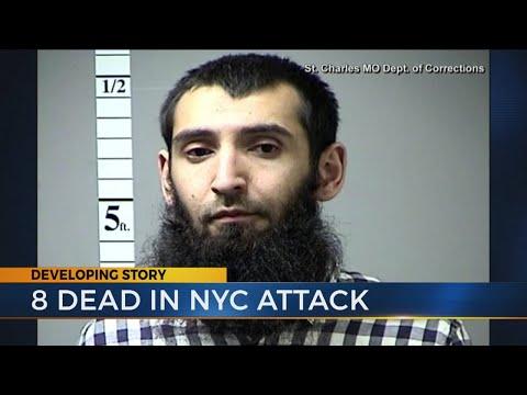 The latest: New York terrorist attack