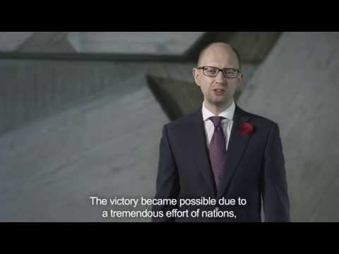 Address of Arseniy Yatsenyuk on the occasion of the Day of commemoration and reconciliation