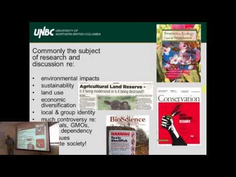 "Dr. Phil Burton - ""Development of a Food Security Program UNBC"""