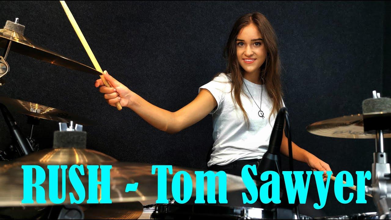 Rush - Tom Sawyer - Drum Cover By Nikoleta - 14 years old