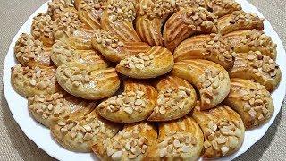 الحلوى التي تعشقها عائلتي ولا استغني عنها أبدا بدون زبدة تعطي أكثر من 60 حبة