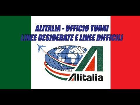 "#Alitalia Ufficio Turni tra linee desiderate e linee ""difficili""  via @YouTube#piloti #assistentidivolo - UkusTom"
