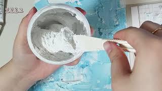 보보로그 백드롭페인팅 ASMR / Let's paint…