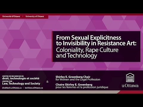 Sexually Explicit Resistance Art: Activism, Rape Culture and Technology | 6 FEV/FEB 2018