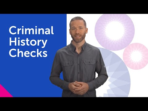 Criminal Background Checks — Accurate Background