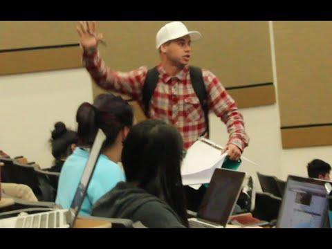 COLLEGE DROPOUT PRANK!!