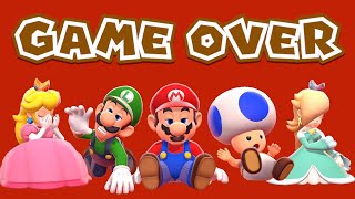 Gambar cover Super Mario 3D World - Game Over (All Characters)