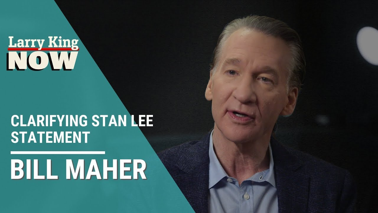 Bill Maher: Comic Books Aren't Meditations on the Human Condition